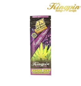 Kingpin KingPin Grape Hemp Wrap 4pk