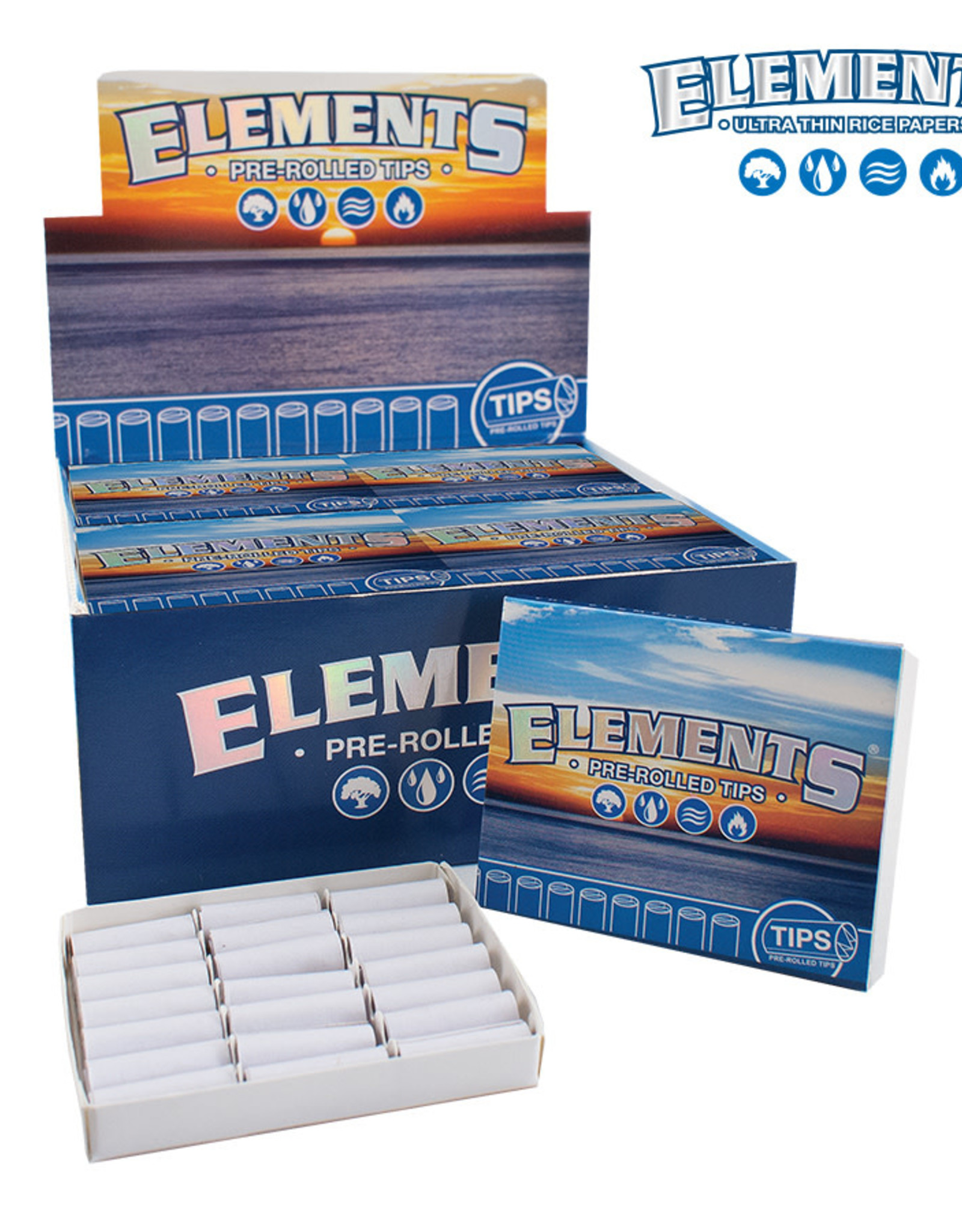 Elements Elements pre rolled tips
