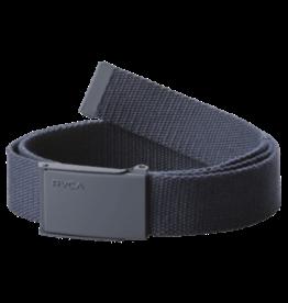 RVCA Option web belt nvy