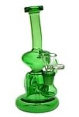 Hydros HY-507-GRN Hydros Glass Klien Cycler. HY-507-GRN