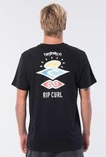 RIPCURL Search Logo Tee