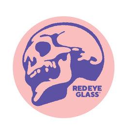 Red Eye Glass Red eye sticker