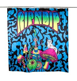 Ripndip SHOWER CURTAIN PSYCHEDELIC