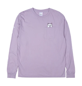Ripndip POCKET L/S T-SHIRT LORD NERMAL