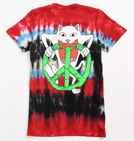 Ripndip T-SHIRT PEACE NO LOVE MLTD LRG