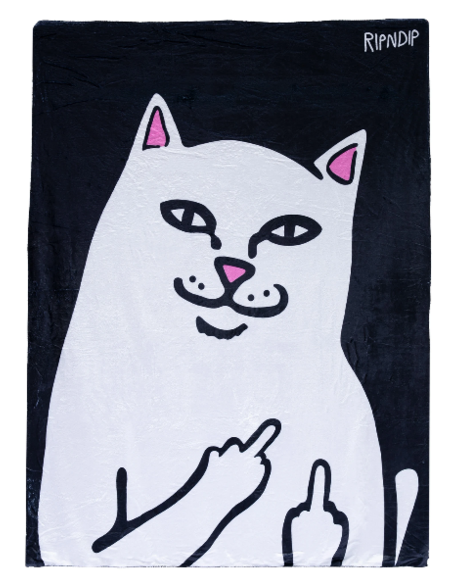 Ripndip THROW BLANKET LORD NERMAL BLK