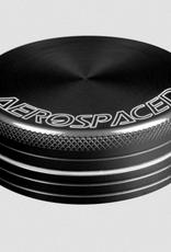 Aerospaced 2 PIECE GRINDER 2.5'' BLACK