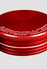 Aerospaced 2 PIECE GRINDER 2.5'' RED