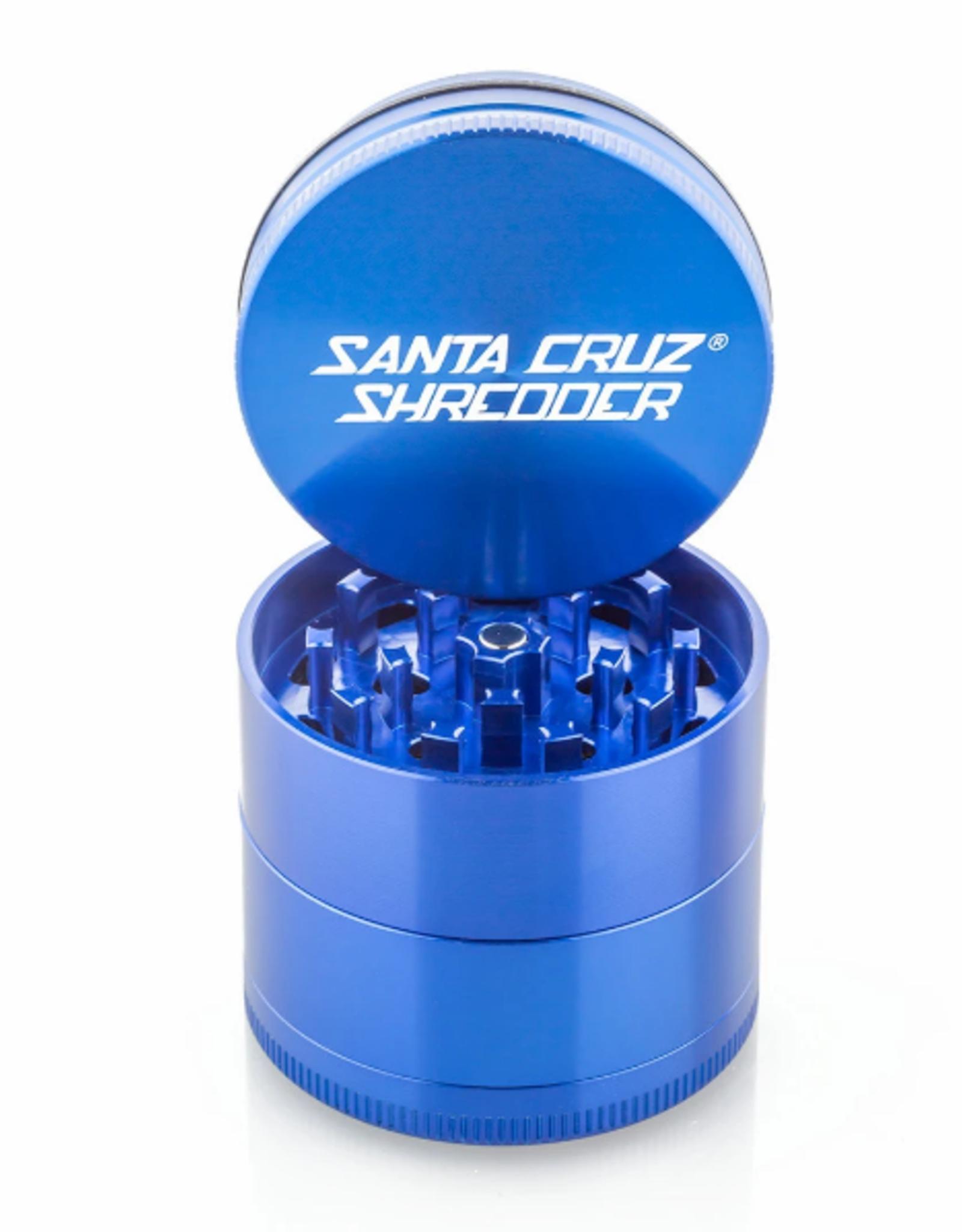 Santa Cruz Shredder 4 PIECE GRINDER 2 1/8'' MEDIUM BLUE