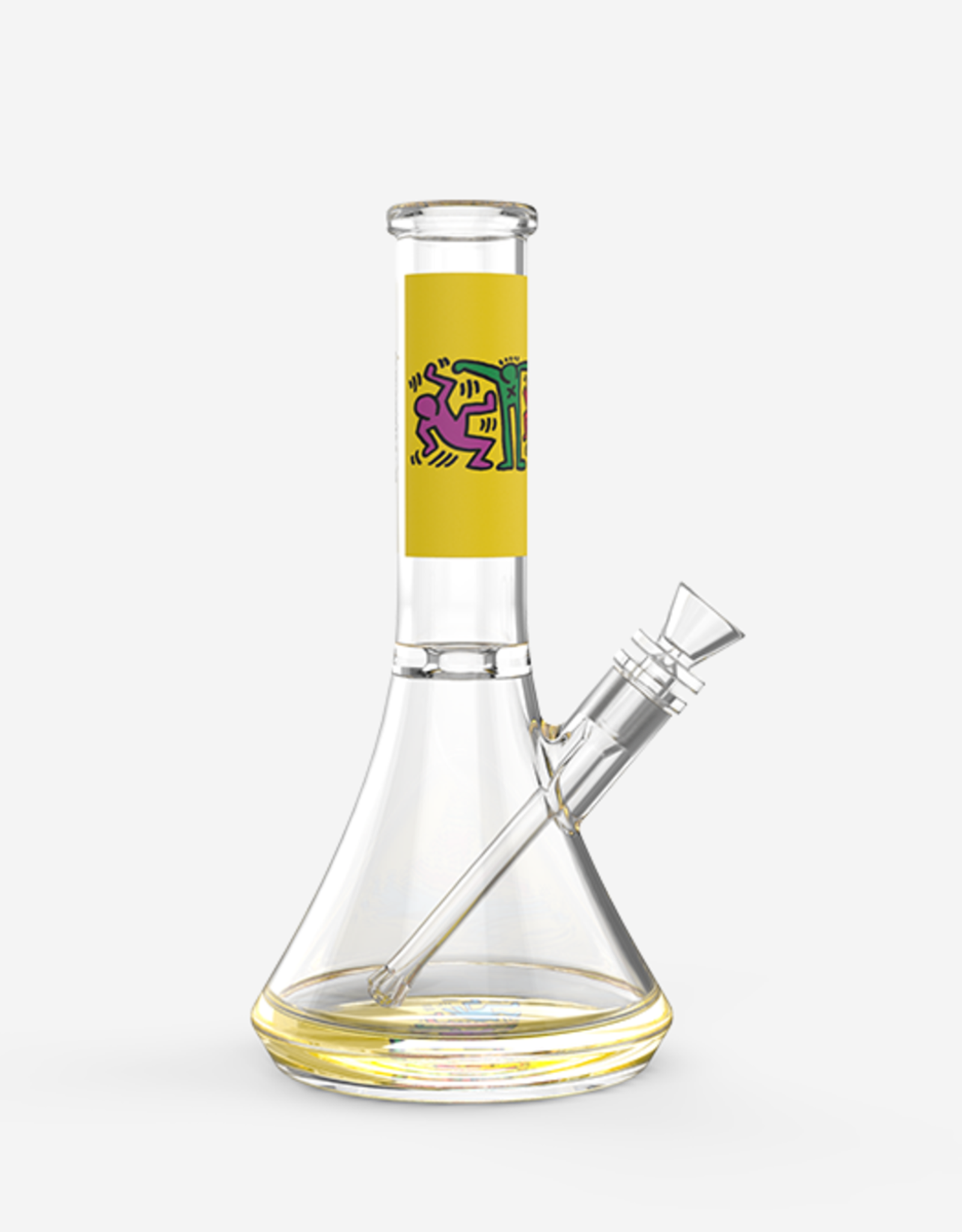 KEITH HARING WATER PIPE YEL