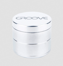 Aerospaced 4 PIECE GROOVE GRINDER 2.5'' SILVER