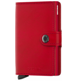 Secrid MINIWALLET ORIGINAL RED-RED