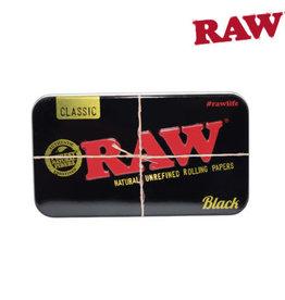 RAW BLACK METAL TIN CASE