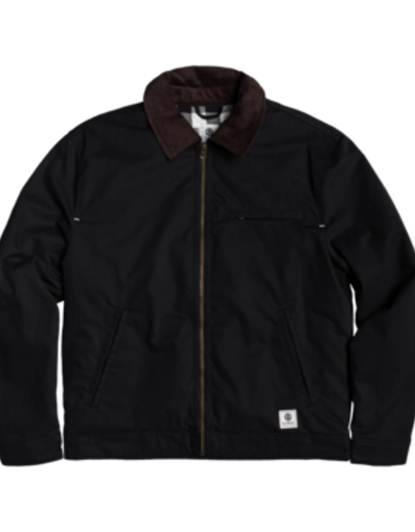 Element CRAFTMAN ZIP JACKET FLINT BLACK MD