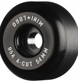 Mini Logo HYBRID A-CUT WHEELS 95A (54) BLK