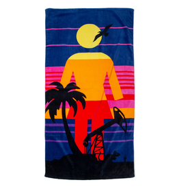 Girl RAT BEACH TOWEL