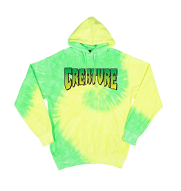 Creature HOOD CREATURE LOGO FLO YELLOW/LIME MED