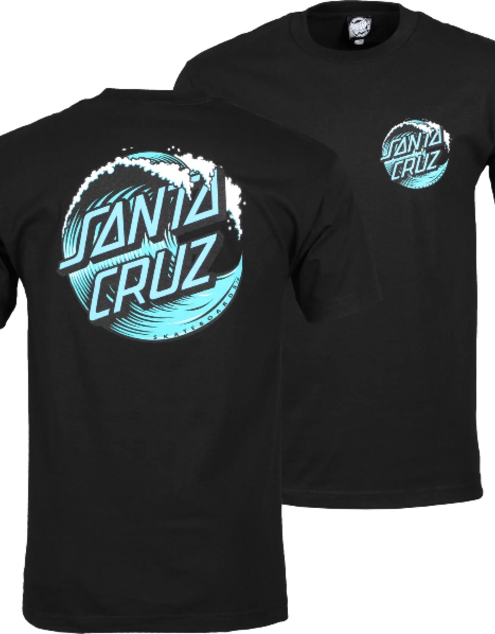 Santa Cruz T-SHIRT WAVE DOT