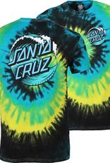 Santa Cruz T-SHIRT WAVE DOT TROPICAL BREEZE MED