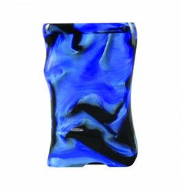D3390B LARGE ACRYLIC DUGOUT W/ MATCHING BAT BLUE AND BLACK