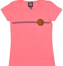 Santa Cruz GIRLS TEE OTHER DOT NHPK XSM