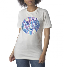 Santa Cruz WOMENS BOYFRIEND TEE IRIDESCENT DOT