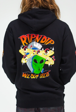 Ripndip HOOD OUT OF THIS WORLD BLACK LRG