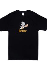 Ripndip T-SHIRT RIPNSTONE BLACK XLG