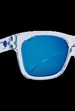 SPY CROSSWAY TRANS LIGHT BLUE/ NAVY SPECTRA MIRROR