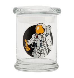 JAR616 MED POP-TOP JAR SPACE MAN