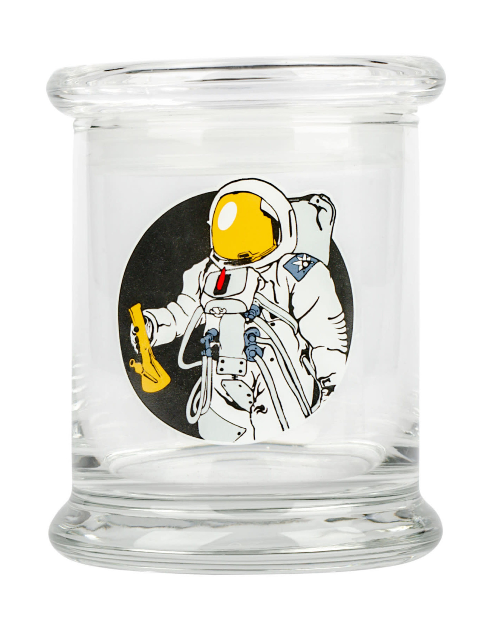 JAR622 LRG POP-TOP JAR SPACE MAN