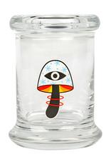 JAR664 MED POP-TOP JAR SHROOM VISION