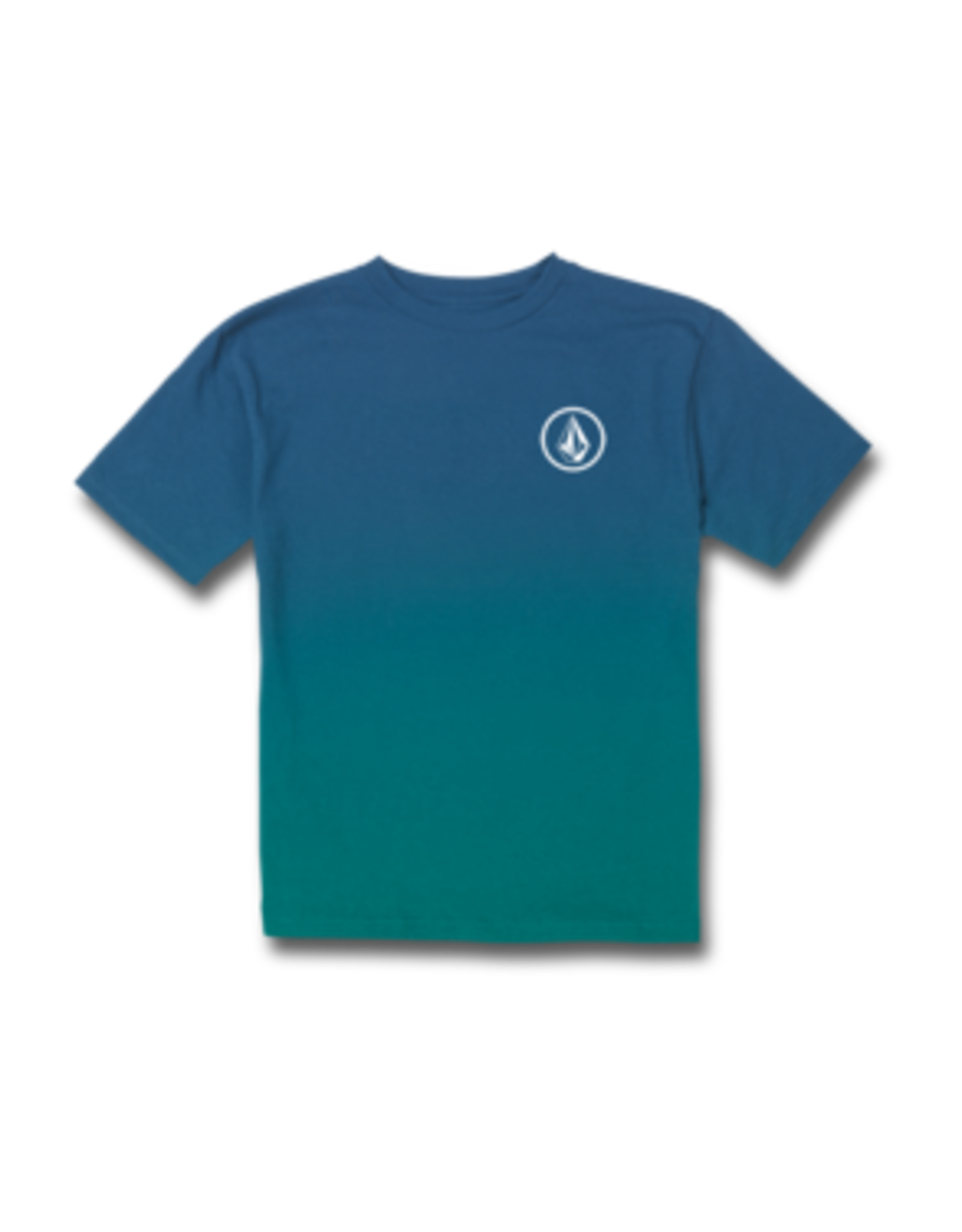 Volcom YOUTH PATCHER S/S TEE BALL POINT BLUE