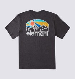 Element SUNSET TEE CHARCOAL HEATHER