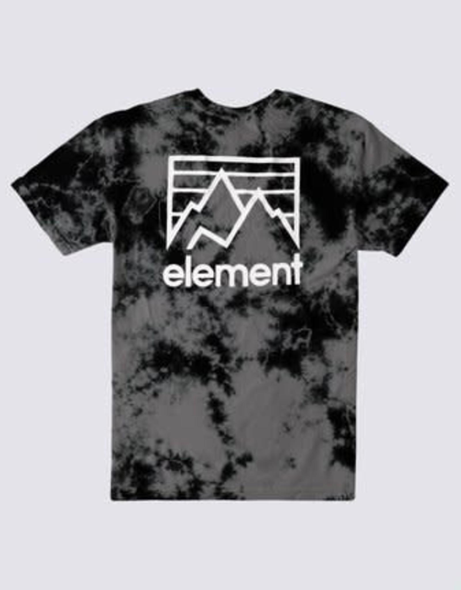 Element JOINT TIE-DYE TEE FLINT BLACK
