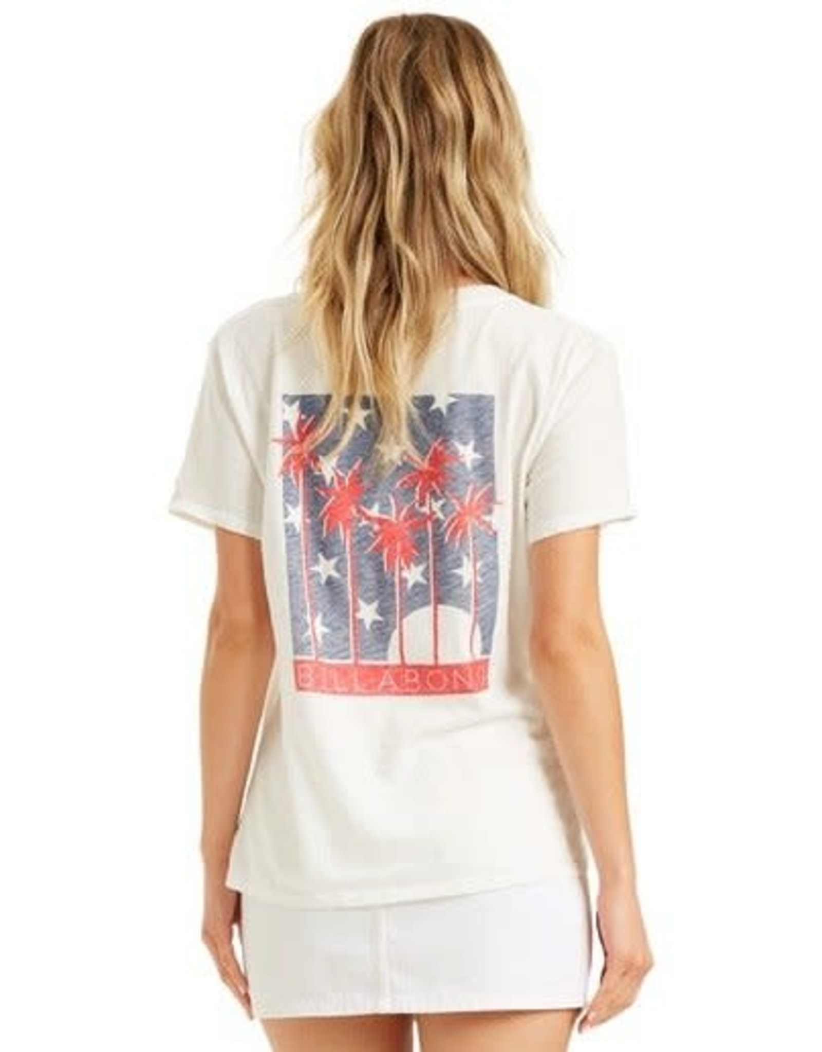 Billabong STARS AND PALMS TEE SCS