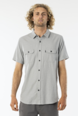 RIPCURL RC OURTIME S/S SHIRT MINERAL GREEN