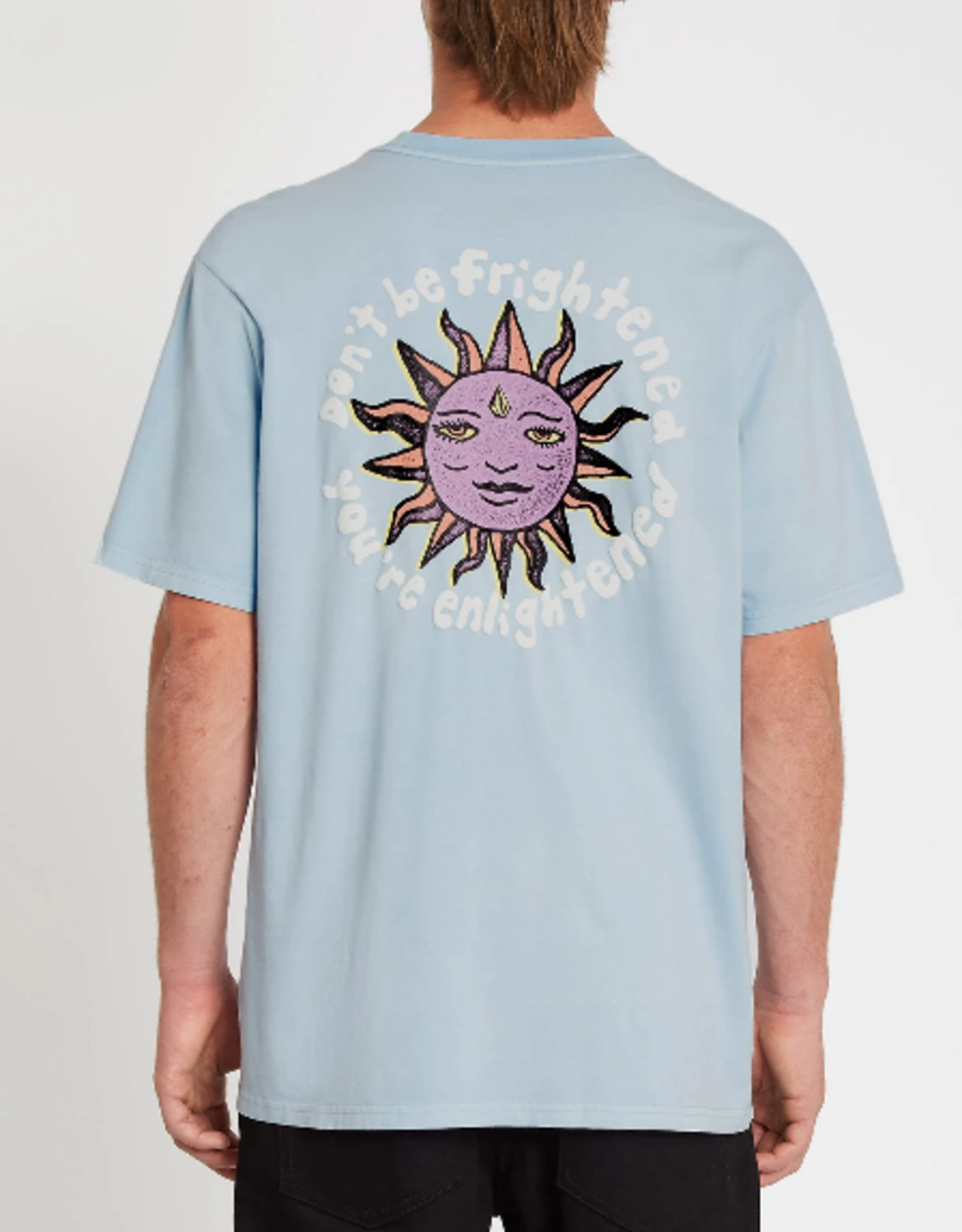 Volcom VC OZZY WRONG S/S TEE AETHER BLUE