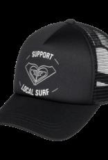 Roxy ROXY TRUCKIN COLOUR  HAT BLACK