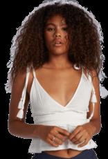 Roxy ROXY SIMPLE BLOSSOM TANK WHITE