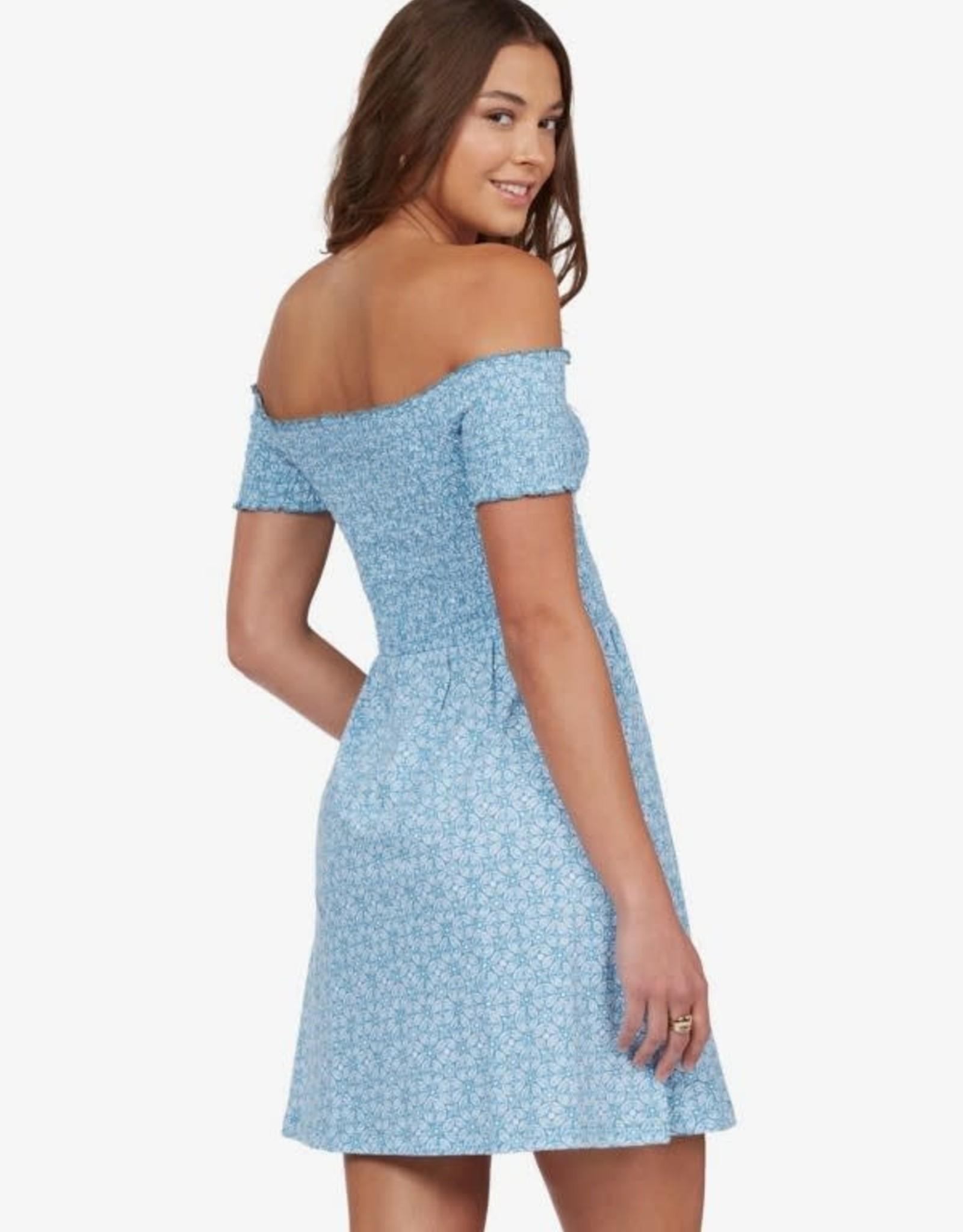 ROXY US TOGETHER DRESS BLUE