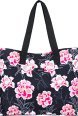 Roxy ROXY WILDFLOWER  PRINTED TOTE BAG BLACK