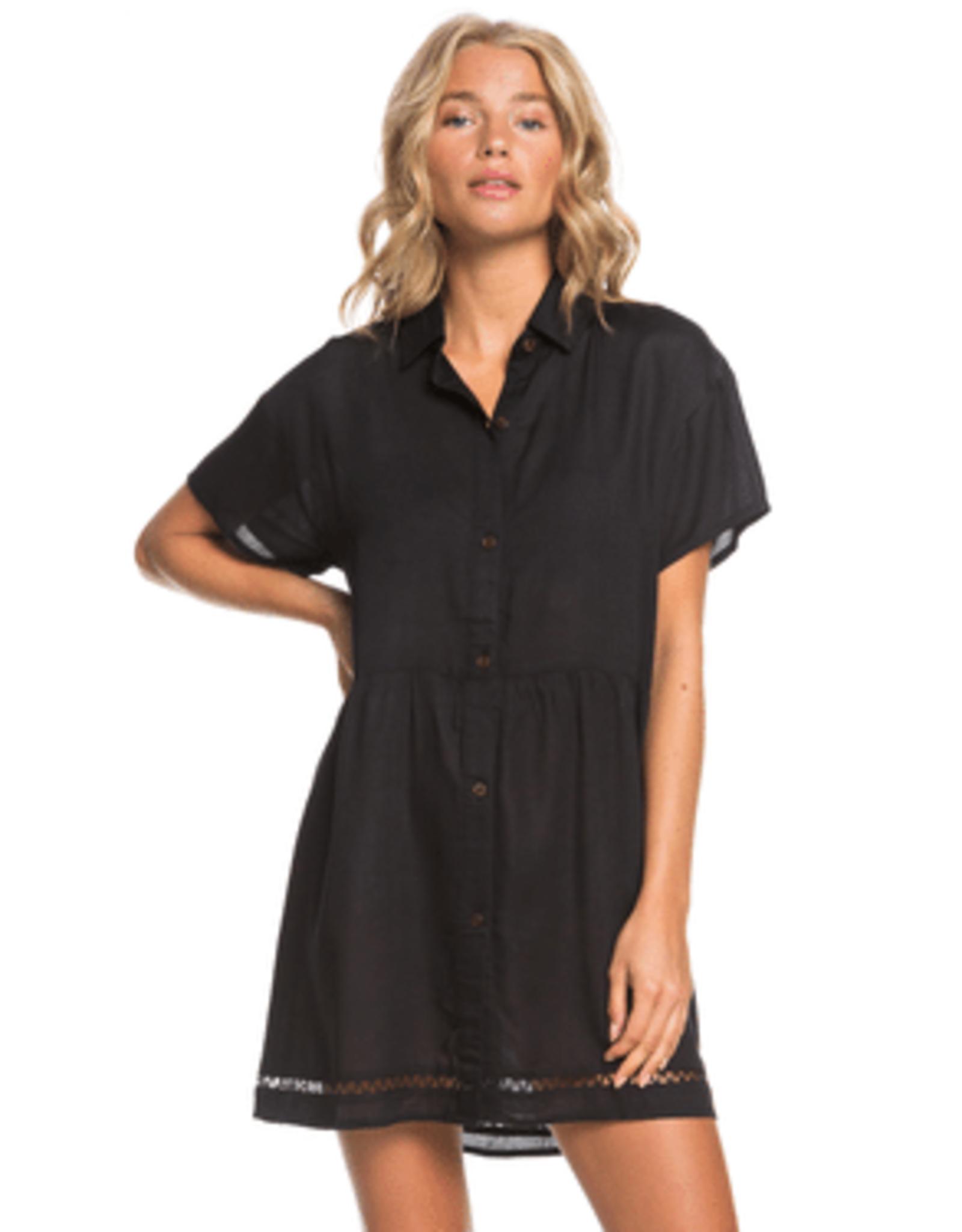 Roxy ROXY BEAUTY TRUTH DRESS BLACK
