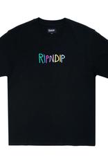 Ripndip RipnDip Logo Embroidered T-Shirt BLK L