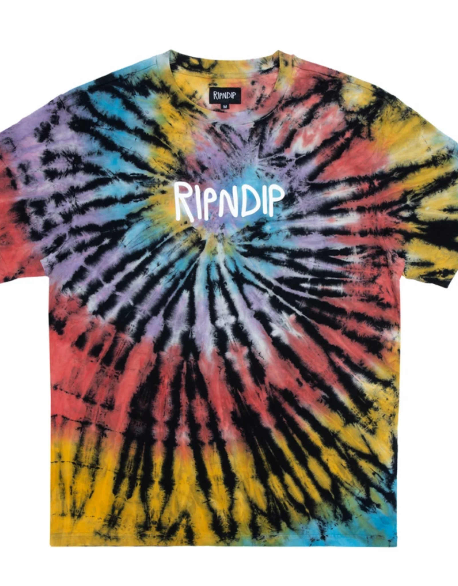 Ripndip RipnDip Rubber Logo T-Shirt SB SPRL Dye L