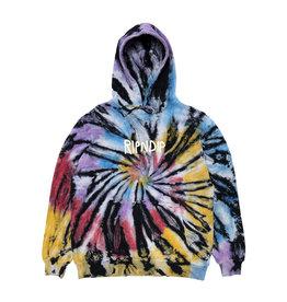 Ripndip RipnDip Rubber Logo Hoodie SB SPRL Dye XL