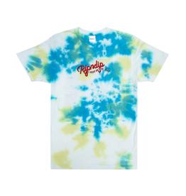 Ripndip RipnDip Raise Da Hell T-Shirt YEL/BLU Acid WSH M