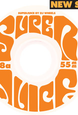 OJ'S WHEELS MINI SUPER JUICE WHEELS WHT 78A 55mm