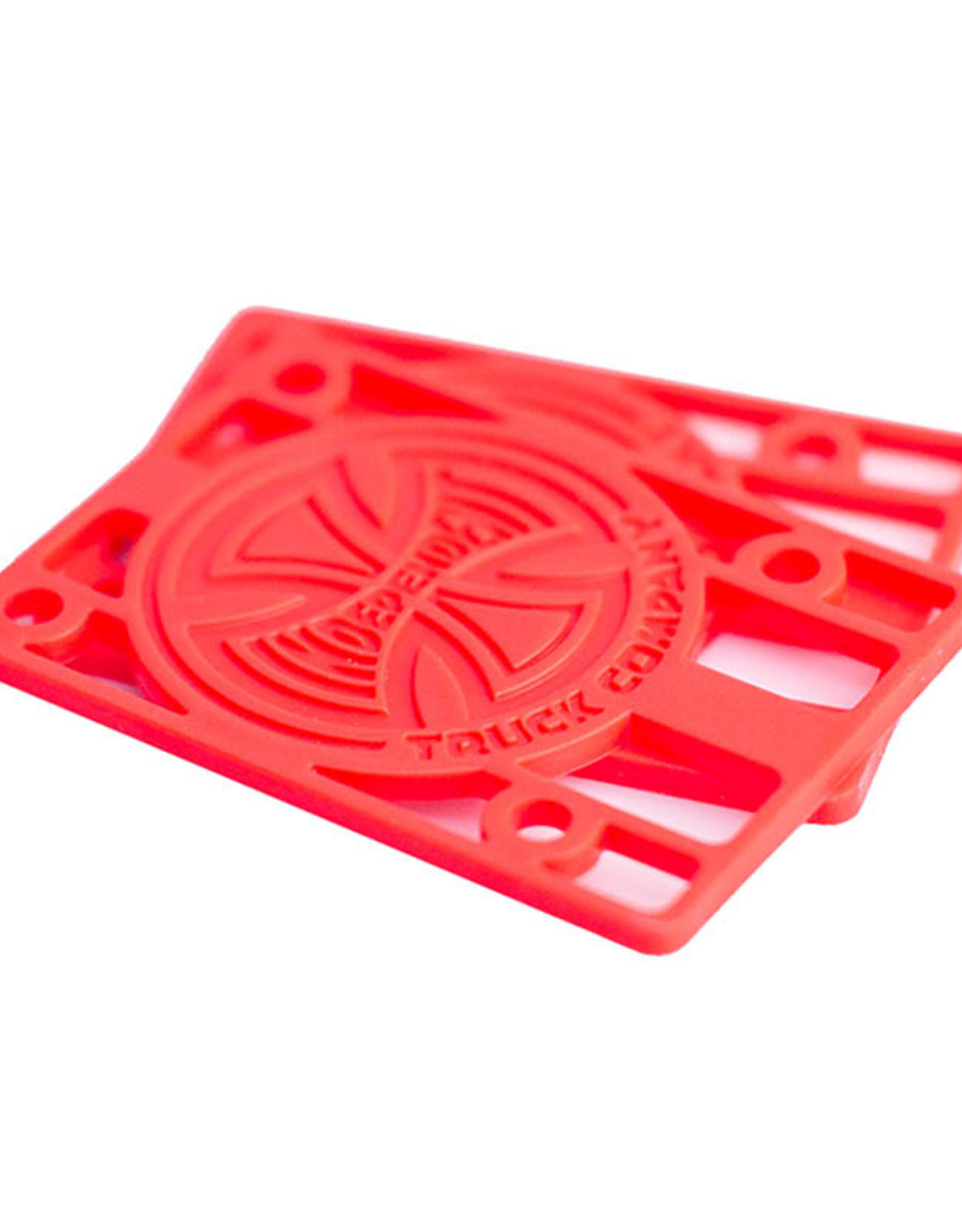 Independent Indy 1/8 Inch Risers Red