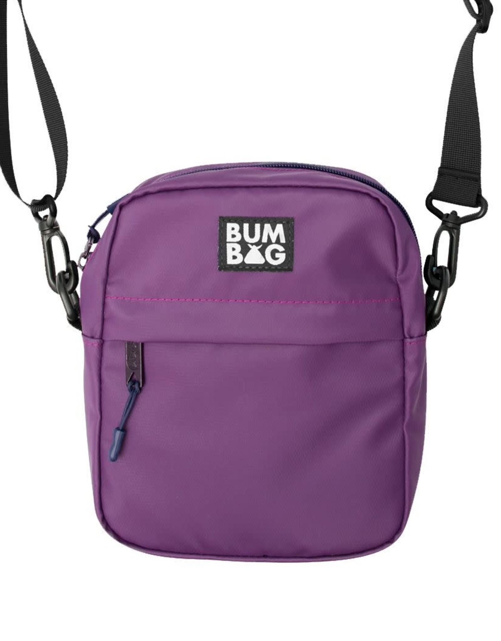 BUMBAG BUMBAG XL MATRIX COMPACT SHOULDER BAG PRPL